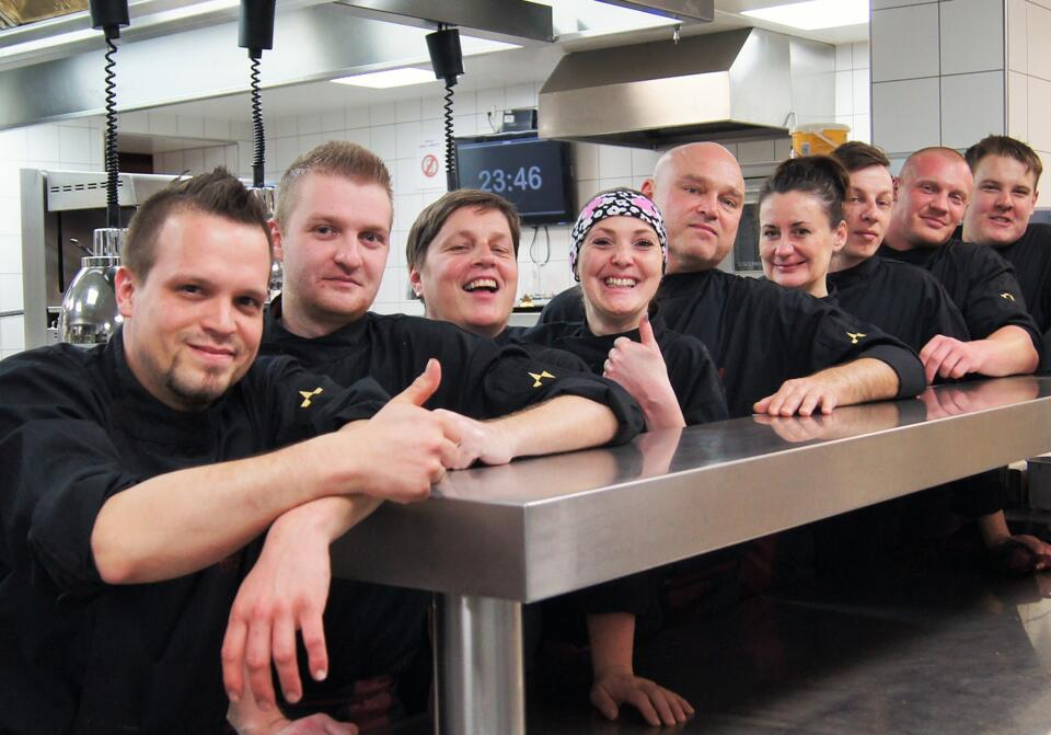 kitchen team hotel Mallaun