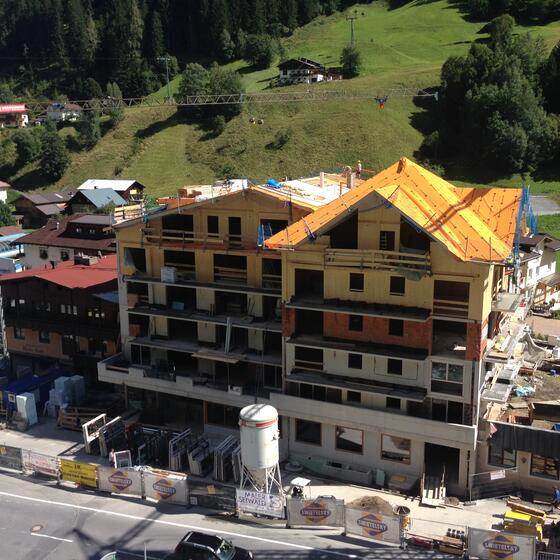 renovation work 4* hotel Mallaun See